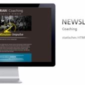 Newsletter-Layout, Einbindung in z.B. MailChimp