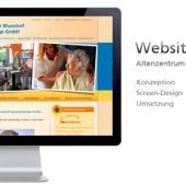 Internetpräsenz  Seniorenzentrum